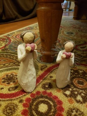Willow tree angel of the heart set