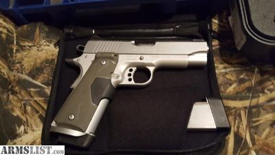 For Sale/Trade: Kimber Stainless pro carry 2 with crimson trace grips