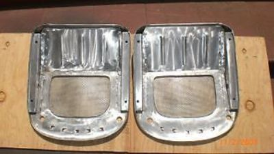 """Find 1 PR. BUG-EYE SPRITE """"ALUMINUM"""" FRONT SEAT PANS motorcycle in Chula Vista, California, United States, for US $227.95"""