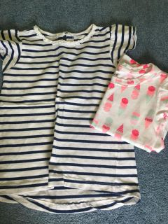 Cat and jack and carters short sleeve shirts