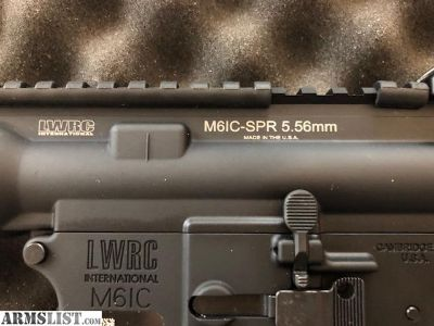 For Sale: LWRC IC SPR