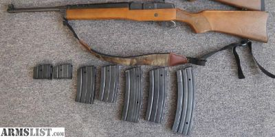 For Sale: Ruger Mini-14 with 7 mags