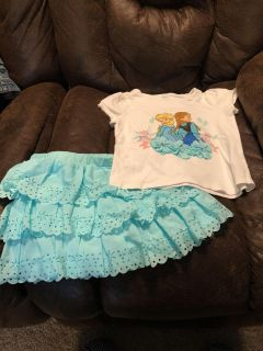 Disney s Anna and Elsa outfit