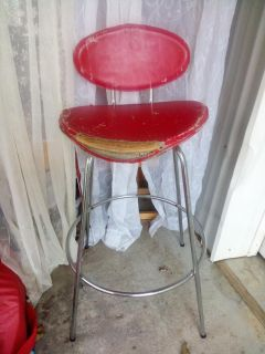 Retro/Vintage Bar Stool Chair - Refinish/Upcycle Project