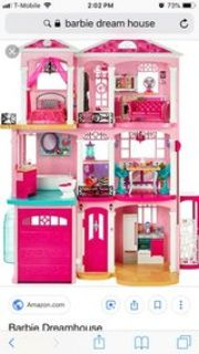RETIRED 3 story Barbie Dream House