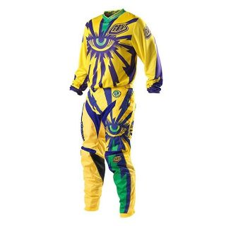 Find Troy Lee Designs 2013 GP Cyclops Jersey and Pants Combo Yellow/Purple motorcycle in Simi Valley, California, US, for US $99.99