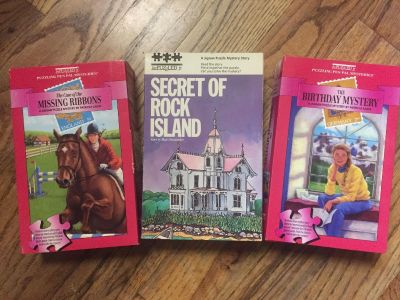 3 New jigsaw puzzle mysteries age 8-12