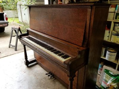 1909 jesse french upright grand piano for sale