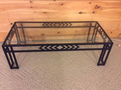 Lane Beveled Glass Coffee Table