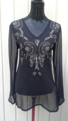 Sheer top sz small