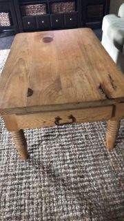 Coffee table, Solid wood and sturdy