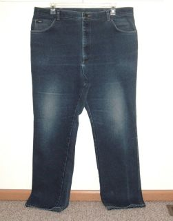 Lee Classic Straight Leg Denim Jeans Mens Big & Tall Tag 44x34 Measures 40x32