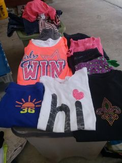 9 pieces of size small 7/8 clothes