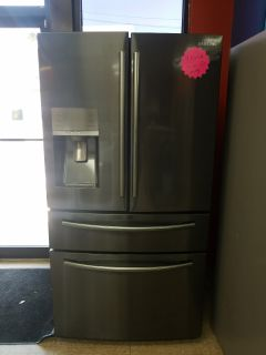 Samsung black stainless steel French