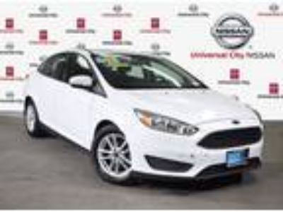 Used 2015 Ford Focus White, 42.2K miles