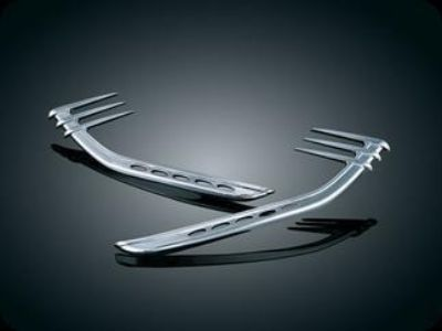 Purchase Kuryakyn Accents for Harley Mid-Frame Air Deflectors motorcycle in Ashton, Illinois, US, for US $49.99