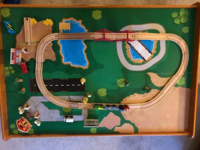 KidKraft Train Table with tracks