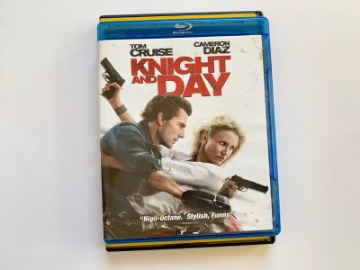 Knight and Day Blu Ray Tom Cruise