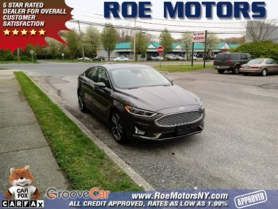 2019 Ford Fusion Titanium AWD (Magnetic Metallic)