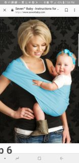 Baby hip carrier up to 35lbs
