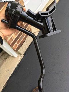 Used VW Alternator/Pedestal Stand & Oil Filler