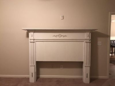 AntiqueMantle for Queen or Full Size Bed.