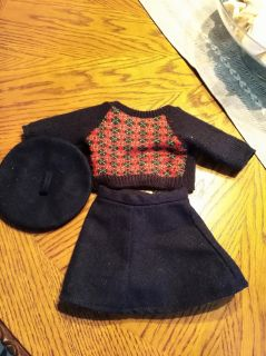 American Girl Molly's meet outfit