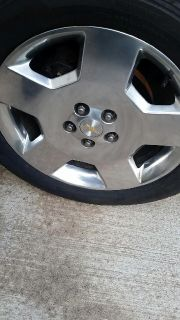 $650, Chevy impala rims and tires