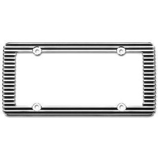 Find Cruiser 58350 License Plate Frame Billet Style Design Chrome Black motorcycle in Suitland, Maryland, US, for US $19.83