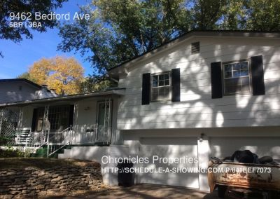 Single-family home Rental - 9462 Bedford Ave
