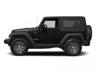 2016 Jeep Wrangler Rubicon (Black Clearcoat)