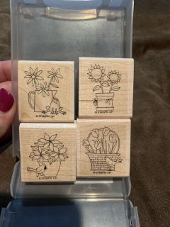 Retired Stampin Up A flower for all seasons