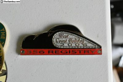 356 Registry West Coast Holdiay Grille badge