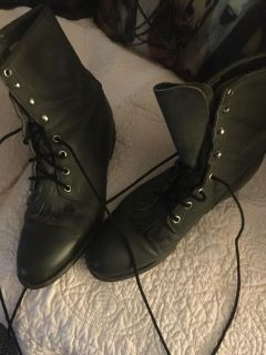 JUSTIN RIDING BOOTS