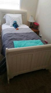 Twin Bed w/ Mattress and Box Spring