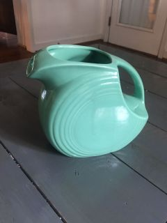 Fiesta Sea Mist Pitcher