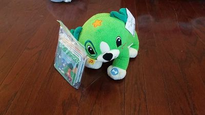 Leap Frog puppy that reads books to you