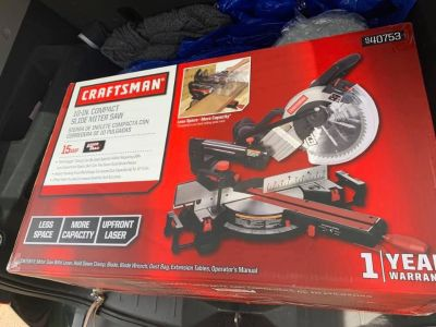 10 inch compact slide miter saw