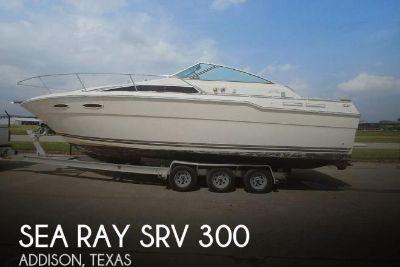 1986 Sea Ray SRV 300 Sundancer