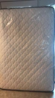 Double sided quilted full mattress NEW