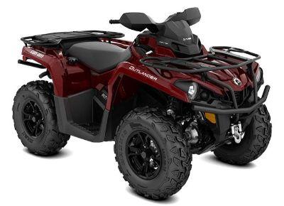 2018 Can-Am Outlander XT 570 Utility ATVs Elk Grove, CA