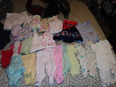 Baby girl clothes & gift set