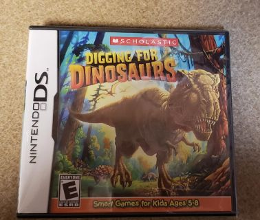Brand new Digging for Dinosaurs Nintendo DS game