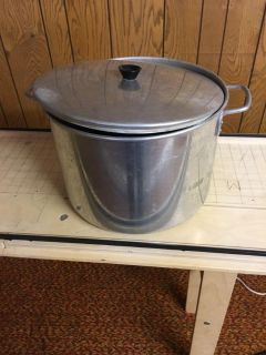 Hot water canner