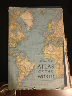 National geographic atlas of the world fourth edition 1975