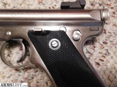 For Sale: New price - Stainless steel Ruger .22 MKII