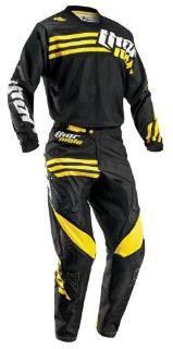 Purchase 2016 THOR MX PHASE STRANDS DIRTBIKE GEAR COMBO JERSEY PANT OFFROAD MX BLACK YLW motorcycle in Palm Harbor, Florida, United States, for US $132.90