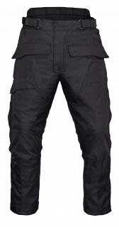 Waterproof Over Pants Full Side Zip Black