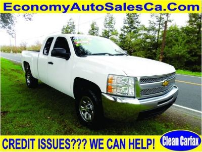 2012 Chevrolet Silverado 1500 Work Truck 4x4 4dr Extended Cab 6.5 ft. SB