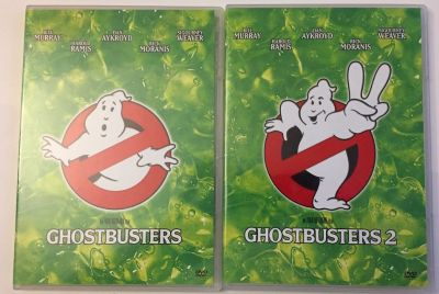 Ghostbusters 1 & 2 DVD Movie Lot Ghost Busters CLASSIC